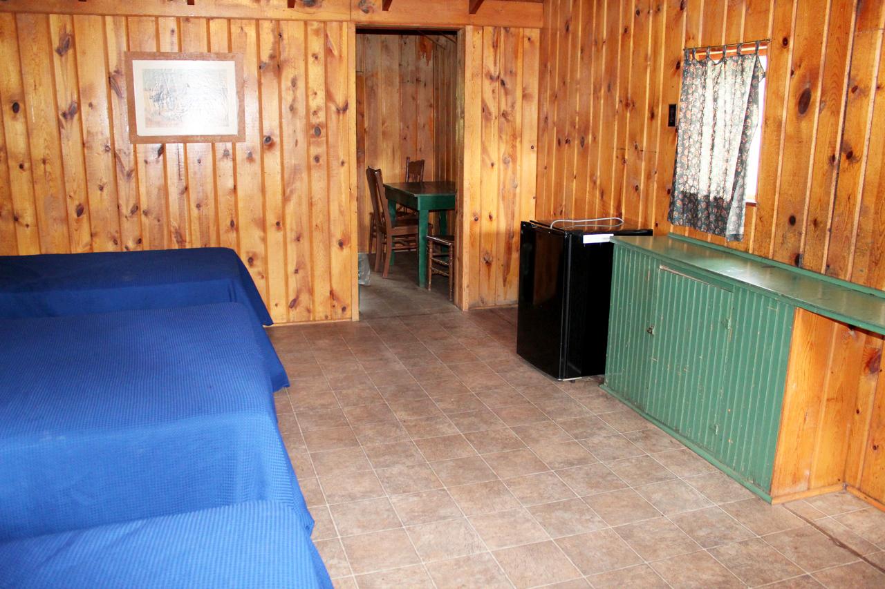 Cabin 12 (Inside)