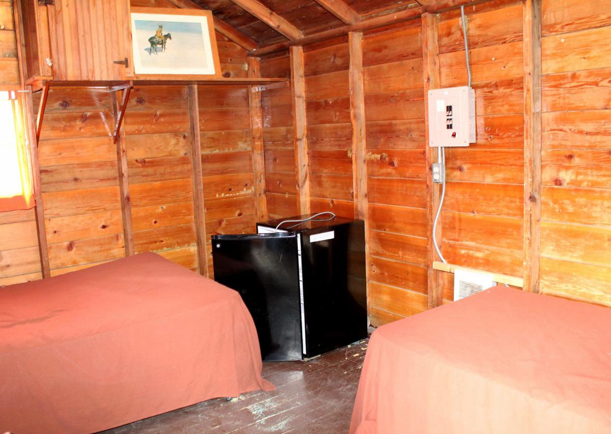 Cabin 8 (Inside)