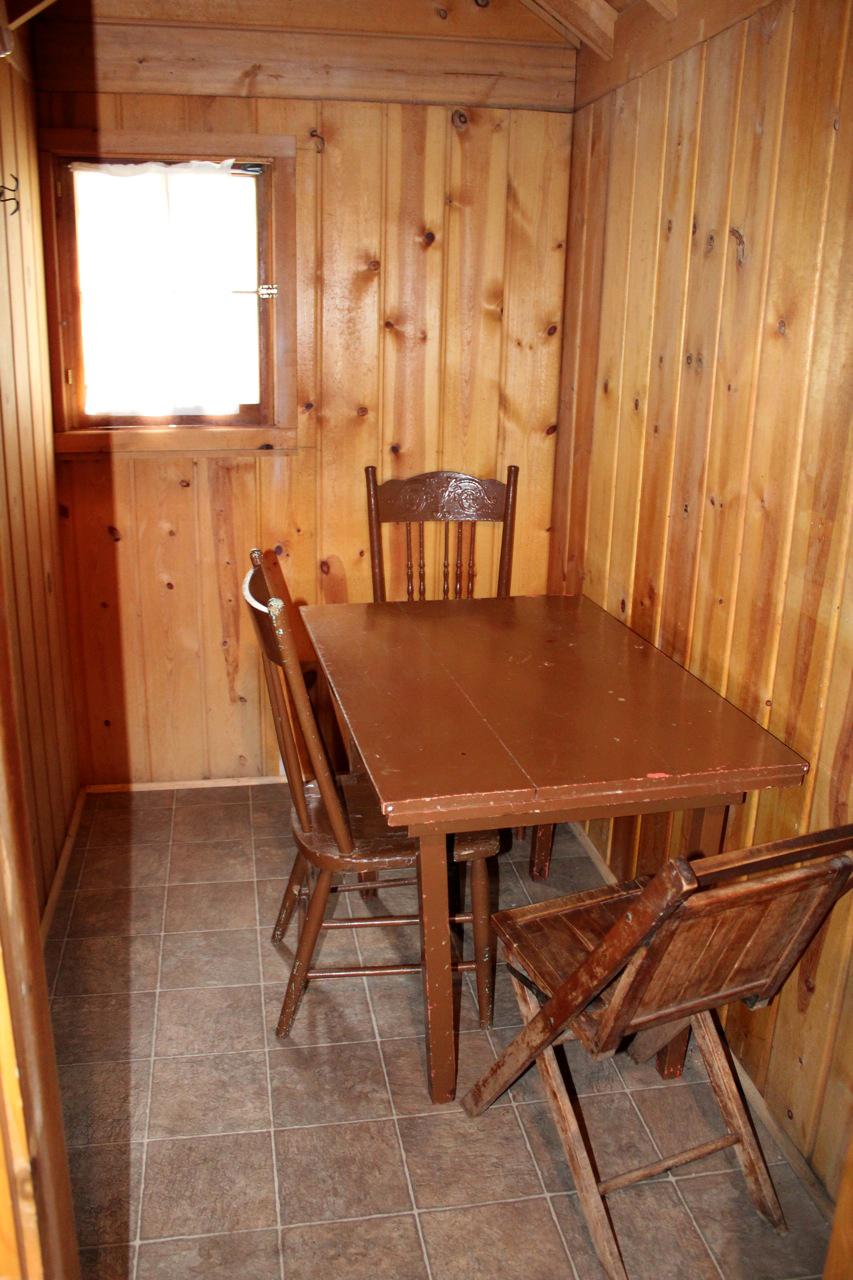 Cabin 11 (Inside)